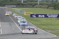 Martin Ponte, Nero 53 Racing Dodge Emiliano Spataro, Lincoln Sport Group Dodge Diego De Carlo, Las Toscas Racing Chevrolet (1-2-3)