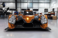 The Ligier JS P2 Honda in the Michael Shank Racing workshops