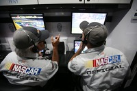 NASCAR pit road technology