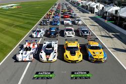 The TUDOR United Sportscar Championship group photo