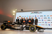 Force India livery launch