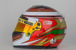 The helmet of Raffaele Marciello, Sauber F1 Team Test and Reserve Driver