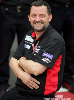 Minardi Formula 1 photoshoot: Paul Stoddart