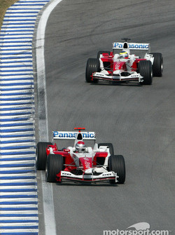 Jarno Trulli and Ricardo Zonta