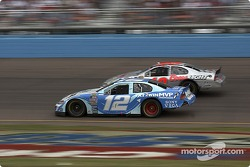 Ryan Newman and Sterling Marlin