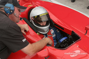 Katherine Legge 2004 Indy Lights test