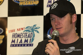 Press conference: Dale Earnhardt Jr.