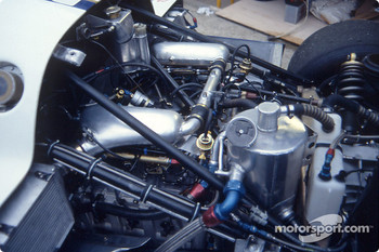 Engine of the #3 Rothmans Porsche Porsche 962C