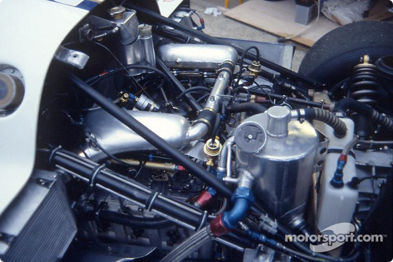 Engine of the #3 Rothmans Porsche Porsche 962C