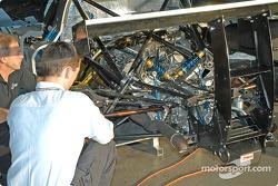 Multimatic Motorsports garage area