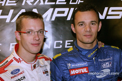 Sébastien Bourdais and Stephane Sarrazin