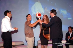 Dr Mario Theissen with Juan Pablo Montoya