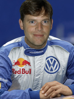 Volkswagen team presentation: Dirk von Zitzewitz, co-driver for Volkswagen works driver Robby Gordon