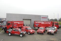 Nissan Dessoude team presentation: the complete Nissan Dessoude hardware