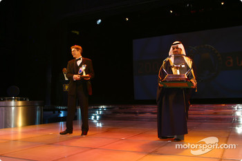 TV: John Morrison, FOM, and Promoter: Shaikh Fawaz Bin Mohammed Al Khalifa, Bahrain International Circuit