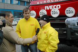 Motorsport Italia team presentation: Markku Alen and Miki Biasion
