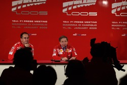 Press conference: Jean Todt