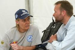 Jutta Kleinschmidt and Kris Nissen