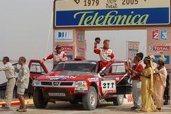 Podium: Ari Vatanen and Tiziano Siviero