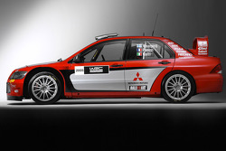 The Mitsubishi Lancer WRC05