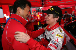 Isao Torii and Gilles Panizzi