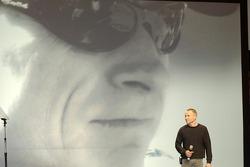 Mark Martin on stage