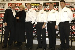 Chip Ganassi Racing: Chip Ganassi, Carolyn Sabates, Sterling Marlin, Casey Mears, Jamie McMurray and Reed Sorenson