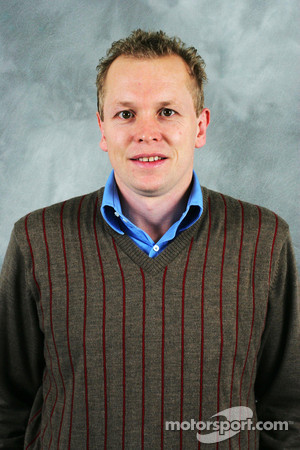Head of advanced engineering Andrew Green