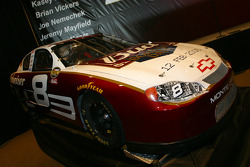 Dale Earnhardt Jr.'s Bud Shootout car on display