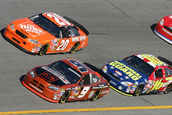 Tony Stewart, Kasey Kahne and Greg Biffle