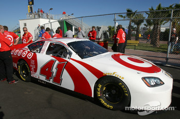 Target Dodge crew wait at technical inspection