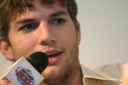 Press conference: Honorary Starter Ashton Kutcher