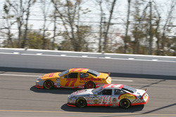 Travis Kvapil and John Andretti