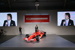 Luca di Montezemelo and Jean Todt present the new Ferrrari F2005