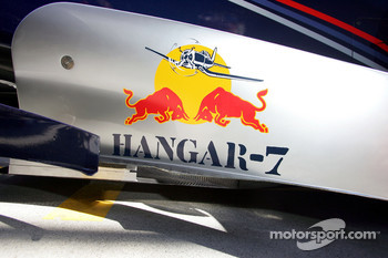 Detail of the Red Bull RB1