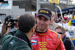 Herta congratulated by teammate Tony Kanaan