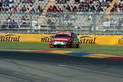 Paul Dumbrell runs wide