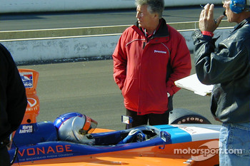 Marco and Mario Andretti