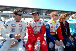 Lucas Luhr, Bill Auberlen and Patrick Long
