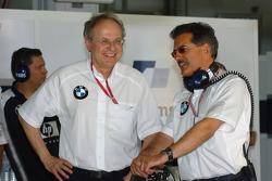 Prof Burkard Goeschl and Dr Mario Theissen