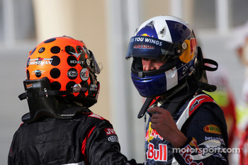 David Coulthard and Christijan Albers