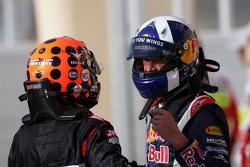 David Coulthard and Christijan Albers