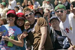 Fans at St. Pete