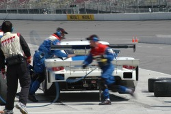 Pitstop for #59 Brumos Racing Porsche Fabcar: Hurley Haywood, JC France