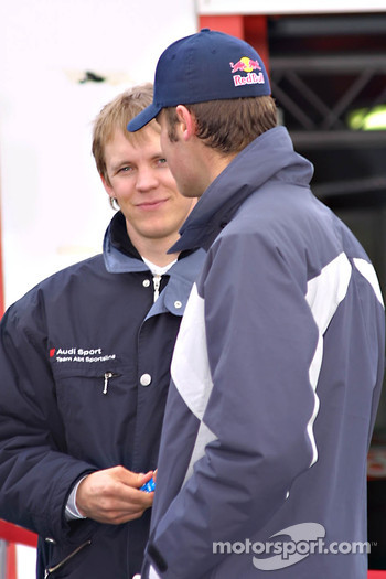 Mattias Ekstrm and Martin Tomczyk
