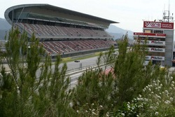 Front staight at Circuit de Catalunya