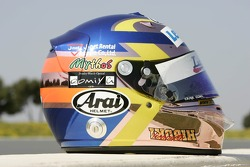 Helmet of Hiroki Yoshimoto