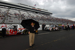 Rain delay during qualifying
