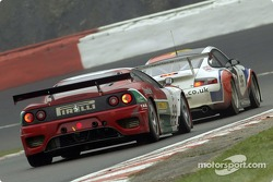 Ferrari vs Porsche: close racing in the 2005 1000km of Spa