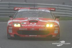 #52 BMS Scuderia Italia Ferrari 550M: Fabrizio Gollin, Miguel Ramos, Matteo Cressoni
